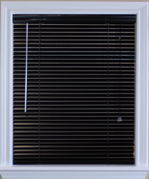 1 Inch Metal Blind with Cord Lift