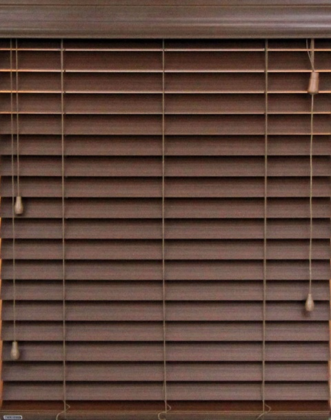 "2"" Corded Faux Wood SmartPrivacy® Blind"