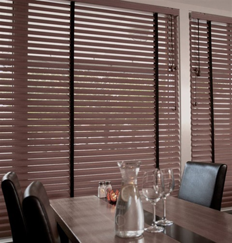 2 Inch Timber Metal Blind With Cord Lift
