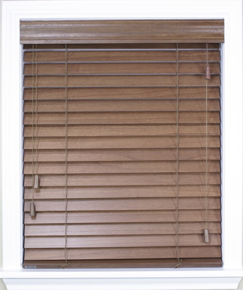 "2"" Premium Wood Privacy Blinds"