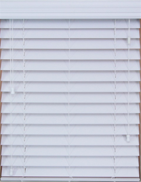 "2.5"" Premium Faux wood Blinds"