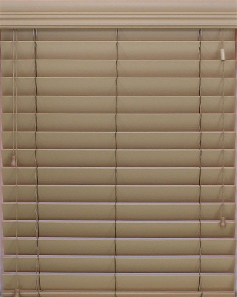 "2.5"" Timber Faux Wood Express Blinds"