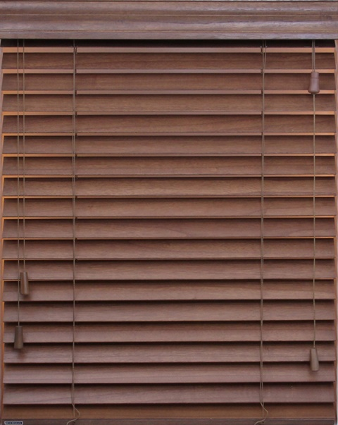"2"" Corded Wood SmartPrivacy® Blind"