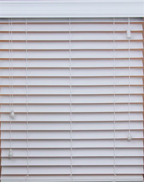 "2"" Cordless Faux Wood SmartPrivacy® Blind"